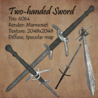 free 3ds mode two-handed sword