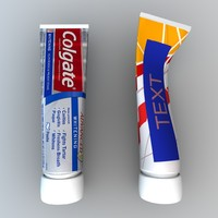 Cosmetic cream tube