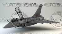 military aircraft 3d model
