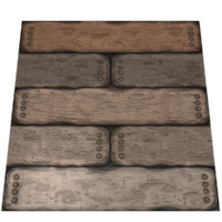 Wood Logs 2 Texture Tile