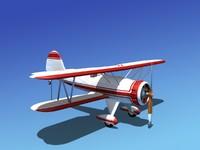 3d model waco ymf-5 ymf
