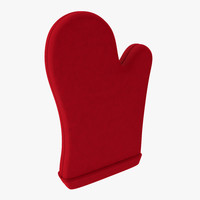 3d model oven mitts