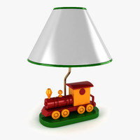3ds max train lamp