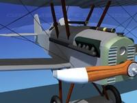 3d cockpit raf fighter model