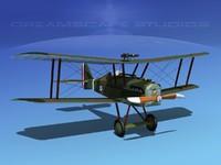 cockpit raf fighter 3d 3ds