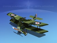 3d cockpit raf fighter model