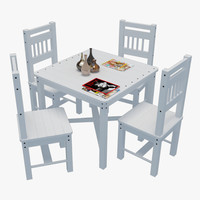 outdoor table chairs 1 3d max