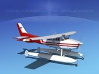 3ds max propeller cessna 182 skylane