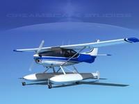 3d model of propeller cessna 182 skylane