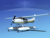 3d propeller cessna 182 skylane model