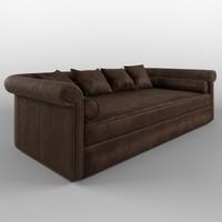 3d sofa baxter alfred