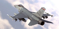 precise f-16 fighting falcon 3d max