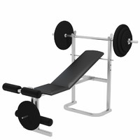 Gym Tools - Bench Weight (plates) starter kit