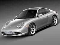 3d porsche 911 2003