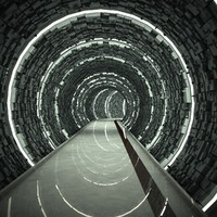 3ds max tunnel