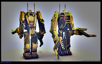 p5000 powerloader aliens 3d model