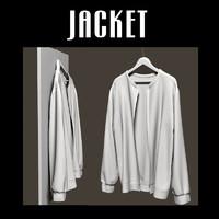 3d jacket hanger model