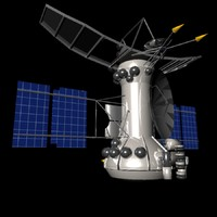 venera 15 spacecraft 3d model