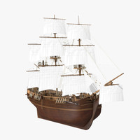 wooden ship x