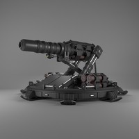 3d defence cannon