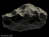 maya asteroid animation