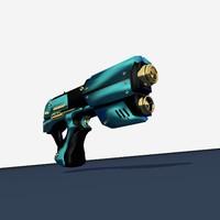 3d gun sci-fi sci