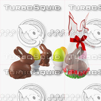 3d max easter composition