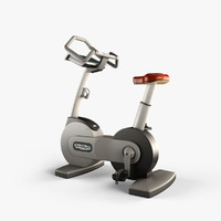 3d technogym bike