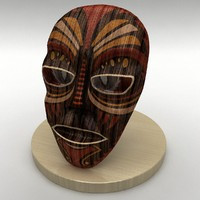 mask antique ornaments 3d 3ds