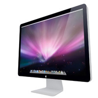 3d model apple 24 led display