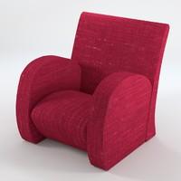 armchair 5 1 3d 3ds