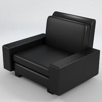 armchair 5 3d max