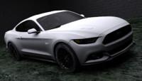 mustang gt 2015 3d model