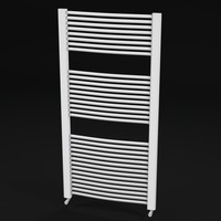 bathroom towel radiator 2 3d 3ds