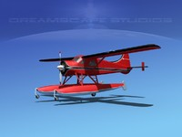 3d model dehavilland beaver