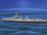 3ds max anti-aircraft destroyers class gleaves