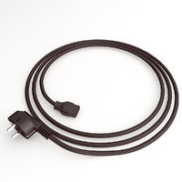 cinema4d power cord cable plug
