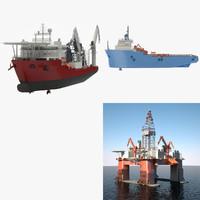 3d ship product platform model