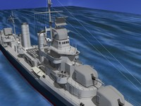 anti-aircraft class destroyers 3ds
