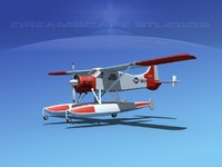 dehavilland beaver 3d 3ds