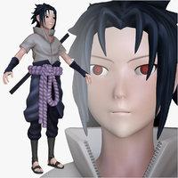 3d model sasuke shippuden