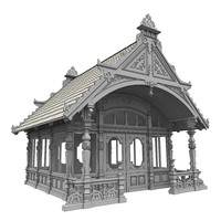 Summer house (gazebo)