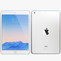 3d model of realistic apple ipad mini