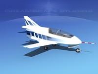 3d plane bd-5 bede bd-5j model