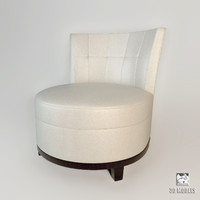 Barbara Barry Boudoir Swivel Chair