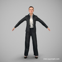 3ds max people rig animation