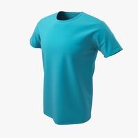 3d t-shirt man model