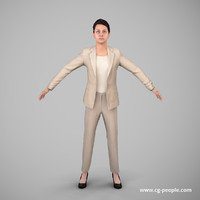 3d people rig animation