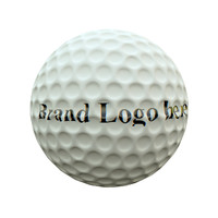 3d golf ball diffuse uv layout model
