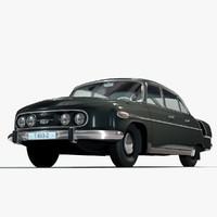 tatra 603 luxury car c4d